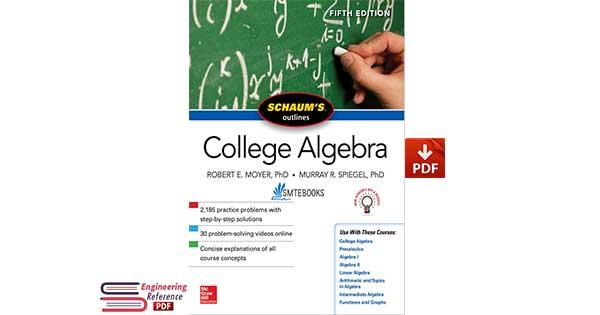 Schaum's Outline of College Algebra 5th Edition